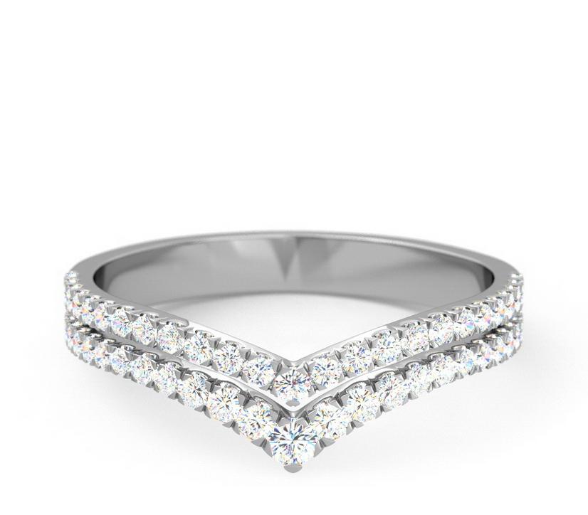 Double Row V-Diamond