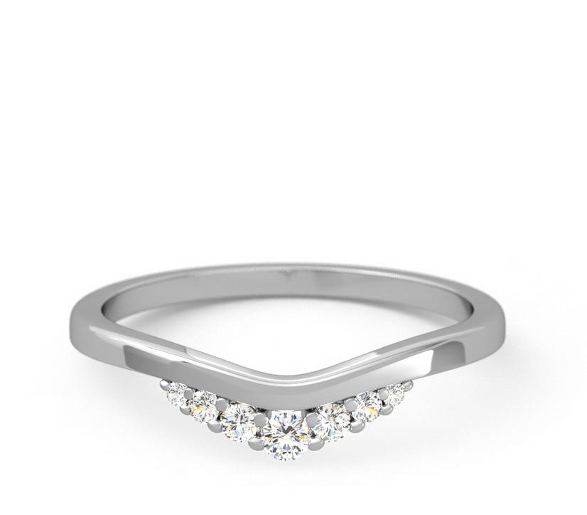 7 Diamond V-Shaped
